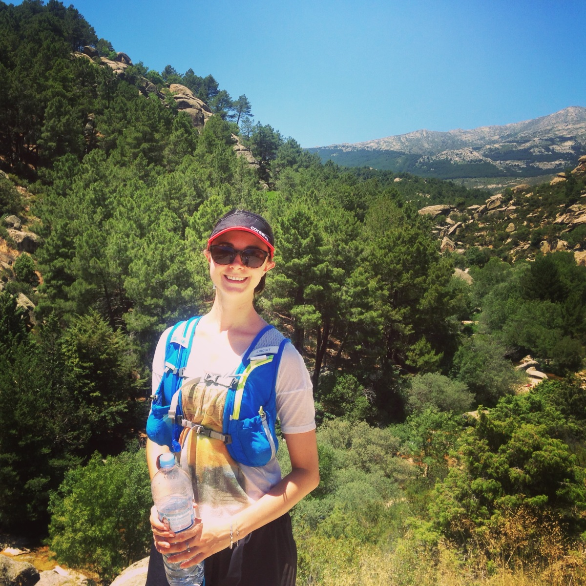 Hiking from Manzanares el Real