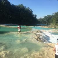 Palenque waterfalls - Agua Azul and Misol-ha