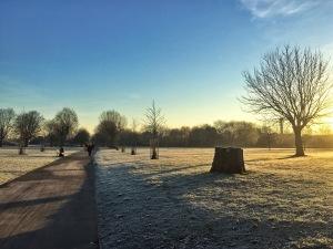 Beautifully wintery London