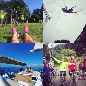 Sailing, Mallorca, Isle of Wight, cycling, trapeze, park run