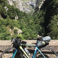 Cycle touring in the Picos de Europa - Boca de Huergano to Cangas de Onís